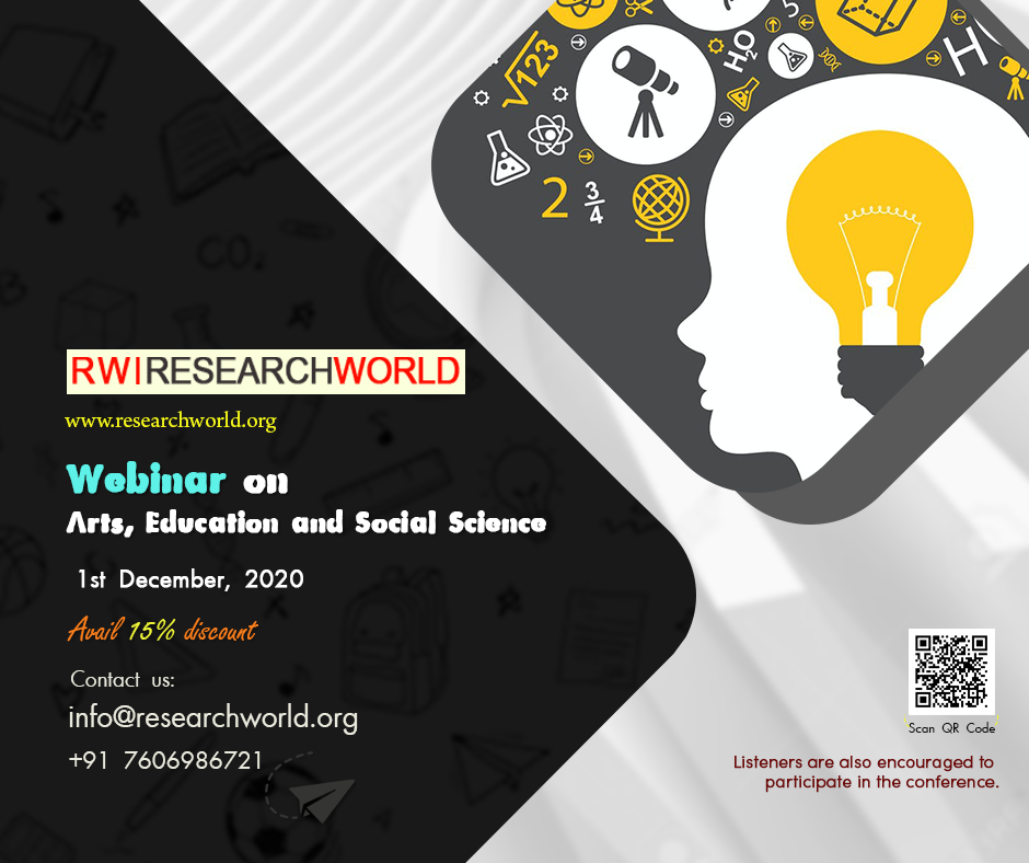Webinar on Arts, Education and Social Science (ICAES)